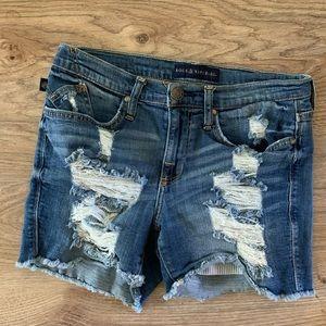 Rock & Republic distressed shorts
